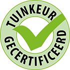 Robert Pul Tuinen is TuinKeur gecertificeerd